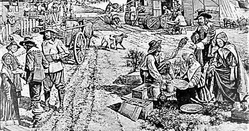 History of Jamestown, Virginia (1607–99)