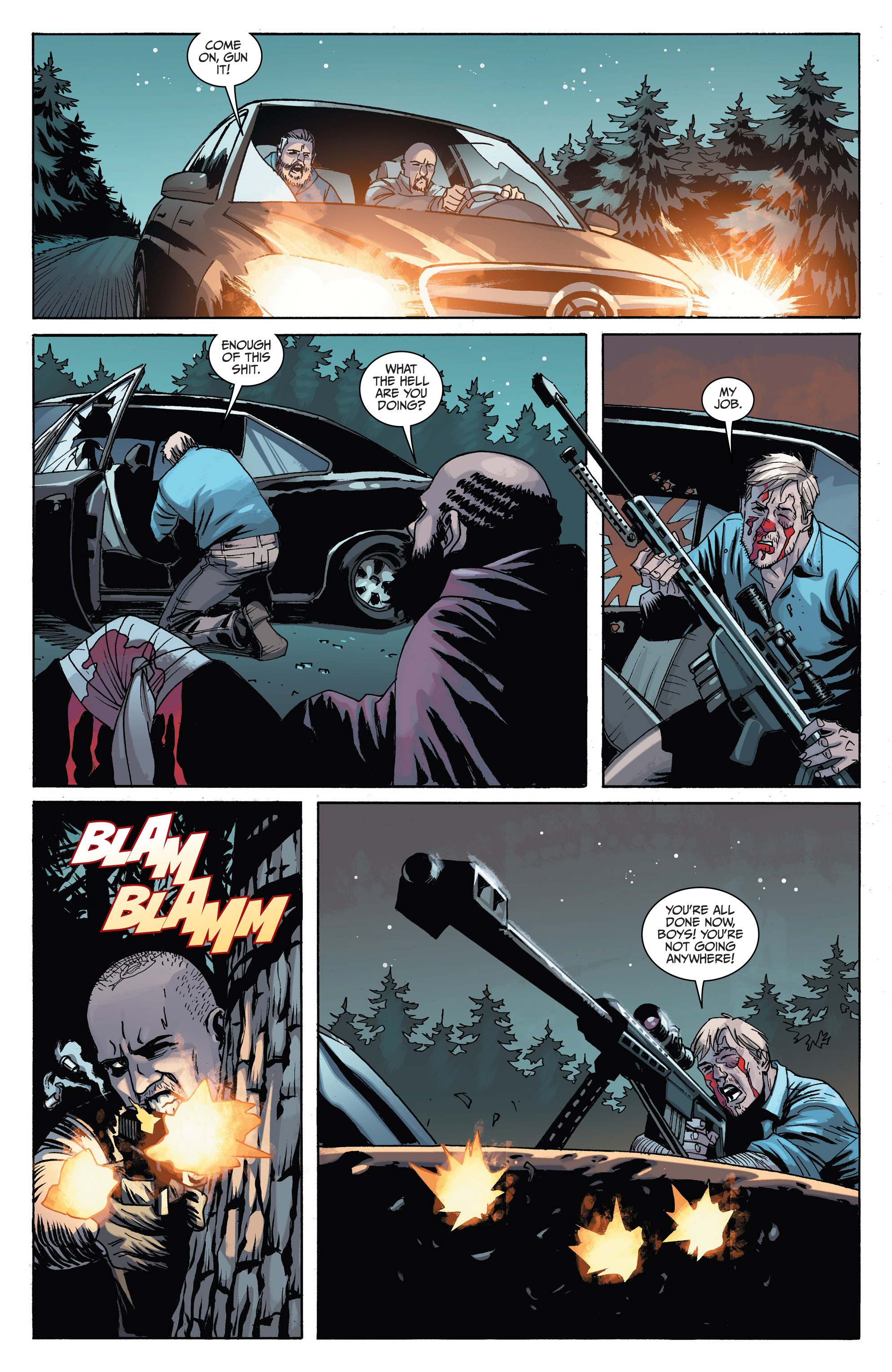 Read online Sons of Anarchy comic -  Issue #6 - 15