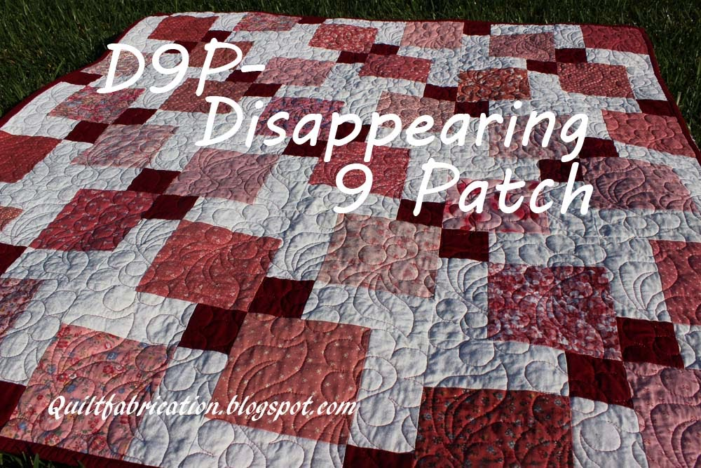 D9P disappearing nine patch