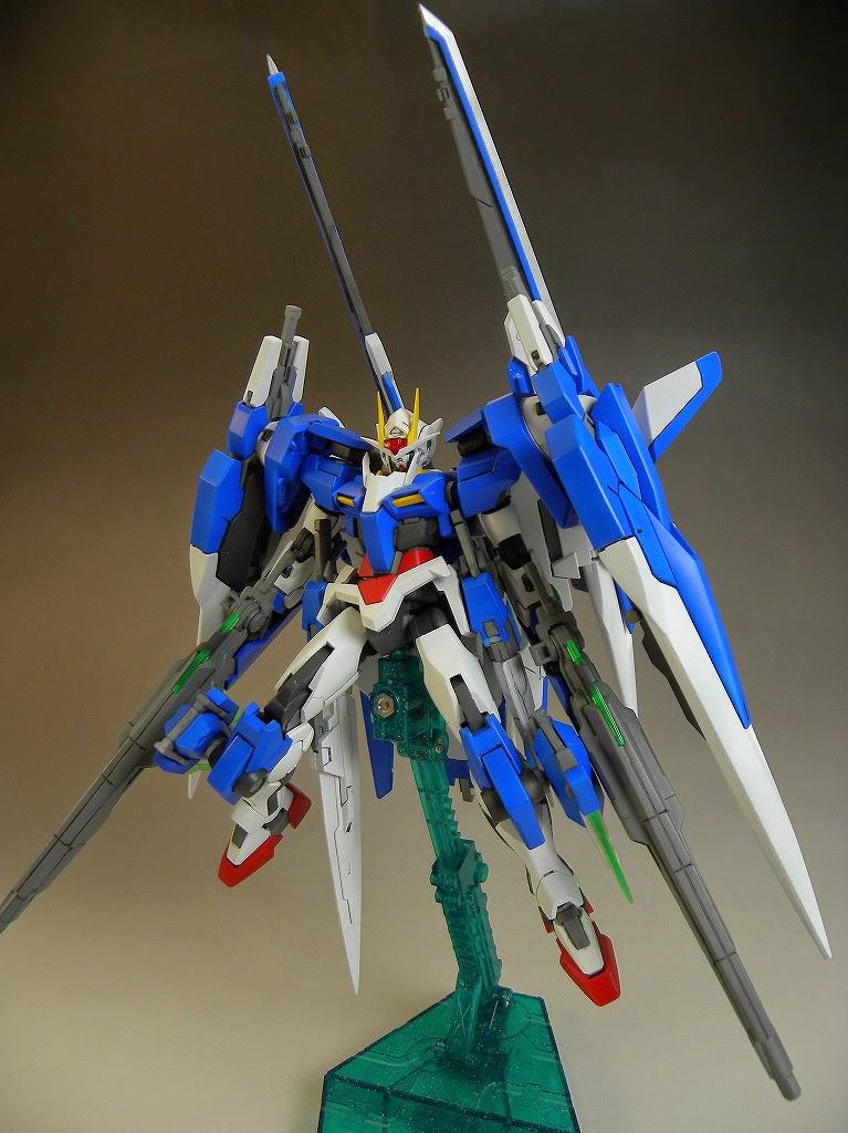 Custom Build 1 144 Gundam 00 Raiser Seven Sword G