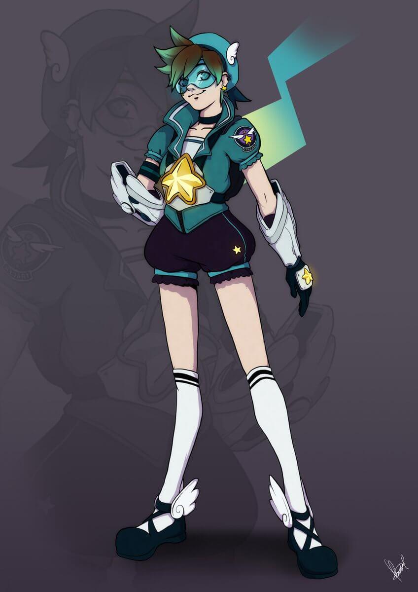 Magical Girl Tracer by Rachel Kong