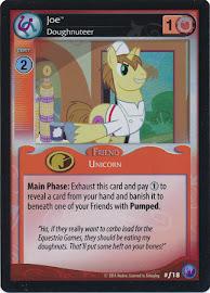 My Little Pony Joe, Doughnuteer Canterlot Nights CCG Card