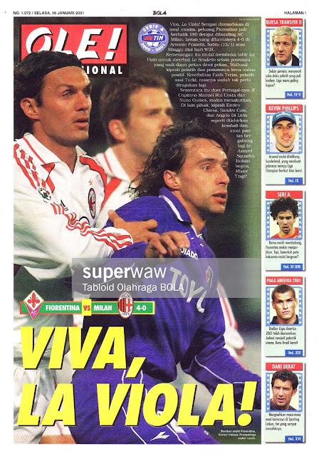 FIORENTINA VS MILAN 4-0 VIVA, LA VIOLA