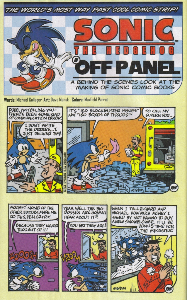 Read online Sonic The Hedgehog comic -  Issue #160 - 32
