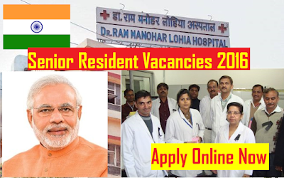 Dr Ram Manohar Lohia Hospital 2016 Vacancies