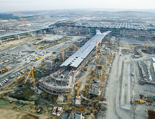 Inauguration  Of World's Largest Airport in Istanbul