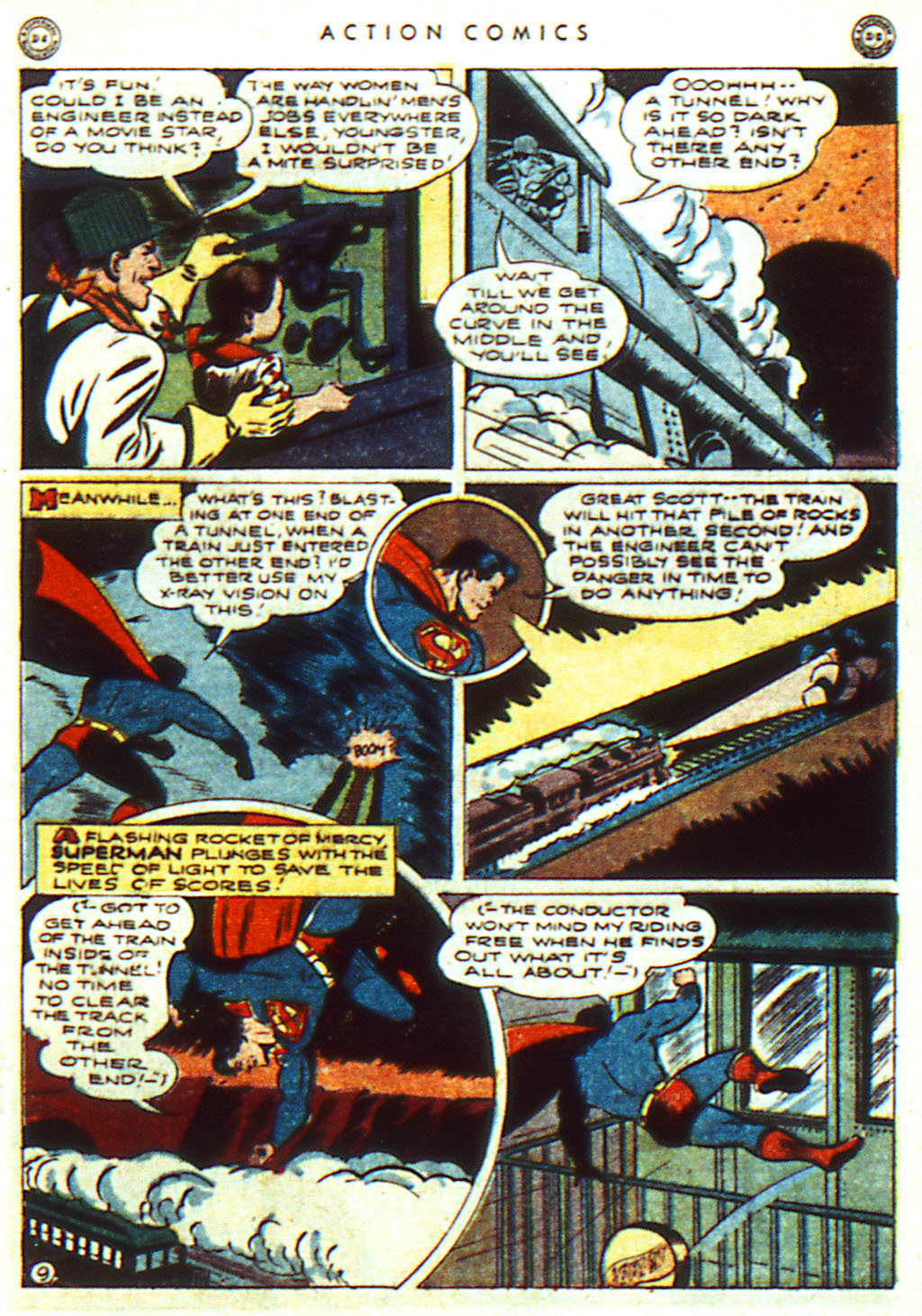 Read online Action Comics (1938) comic -  Issue #98 - 11