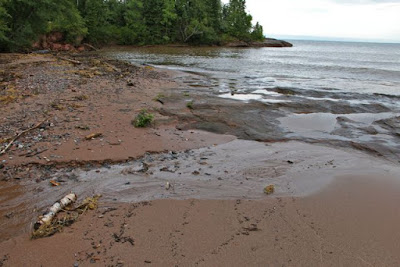 south shore of Lake Superior