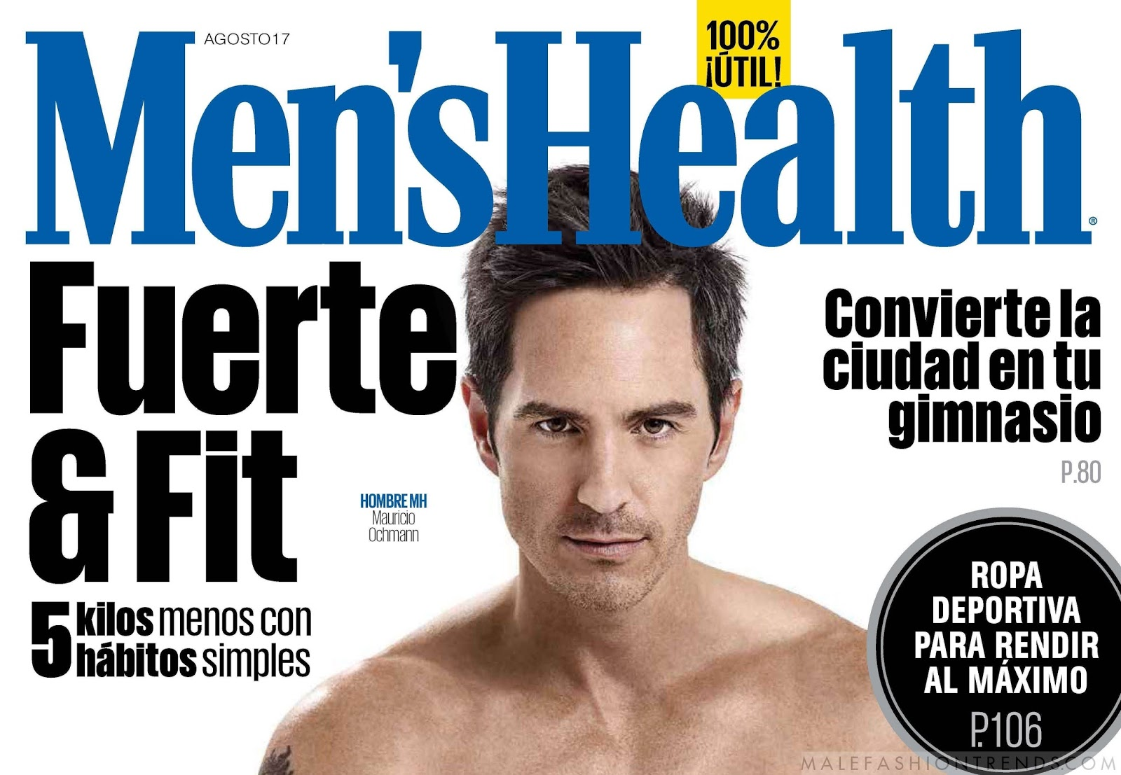 Mauricio Ochmann para Men's Health Mexico por Olga Laris
