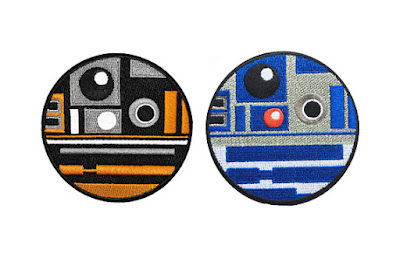 R2 D2 and R2 Q5 Duo Patch Pack