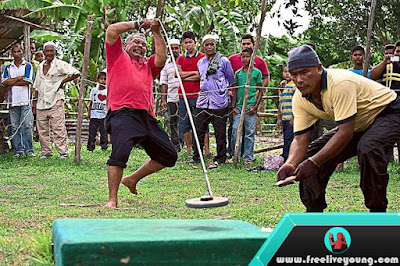 Origin of Gasing Game