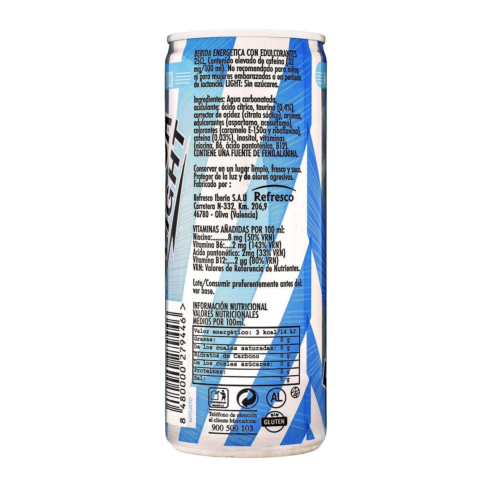 Bebida energética Energy Drink light Hacendado