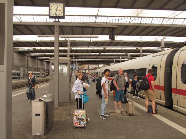 Estação de trem, Munique Alemanha