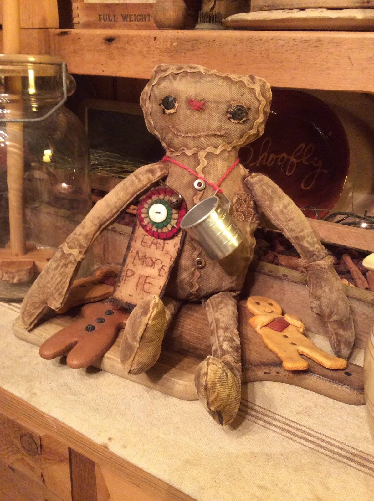Hester's Gingerbread Doll