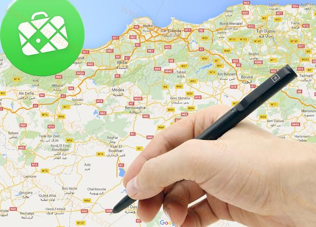 كيفية إضافة أسماء الأماكن لخرائط تطبيق maps.me
