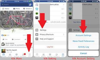 Cara Menonaktifkan Akun Facebook Sendiri Lewat HP