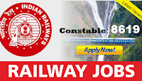 RPF 8619 Constable Recruitment 2018