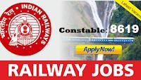 RPF 8619 Constable Recruitment 2018