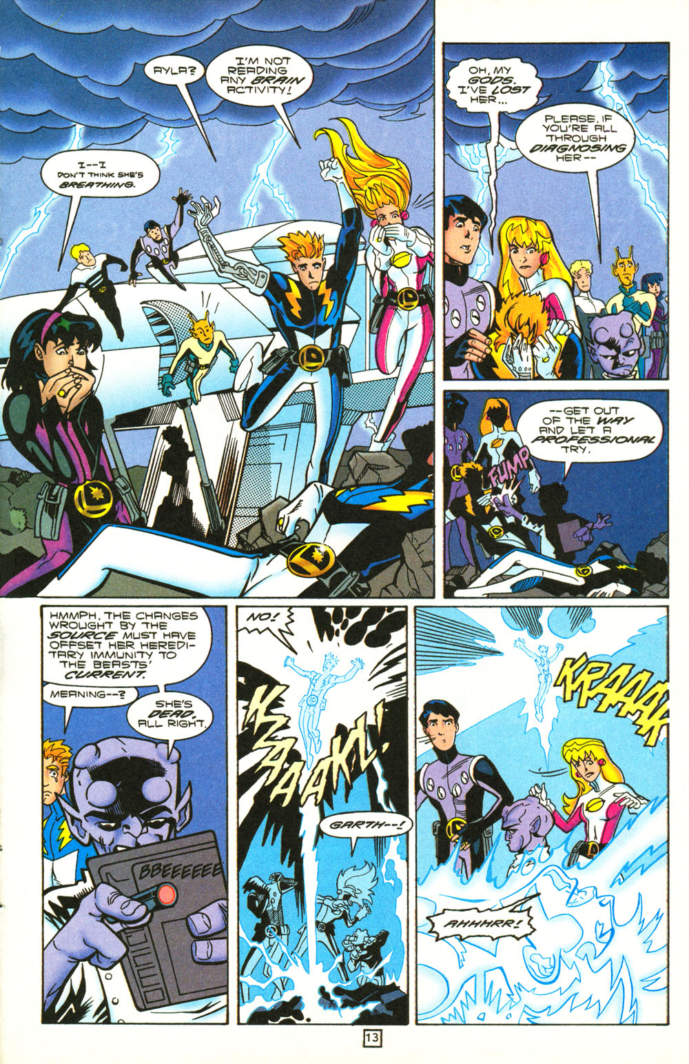 Legion of Super-Heroes (1989) 101 Page 13