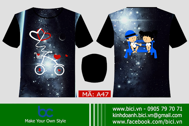 áo lớp galaxy đẹp nhất