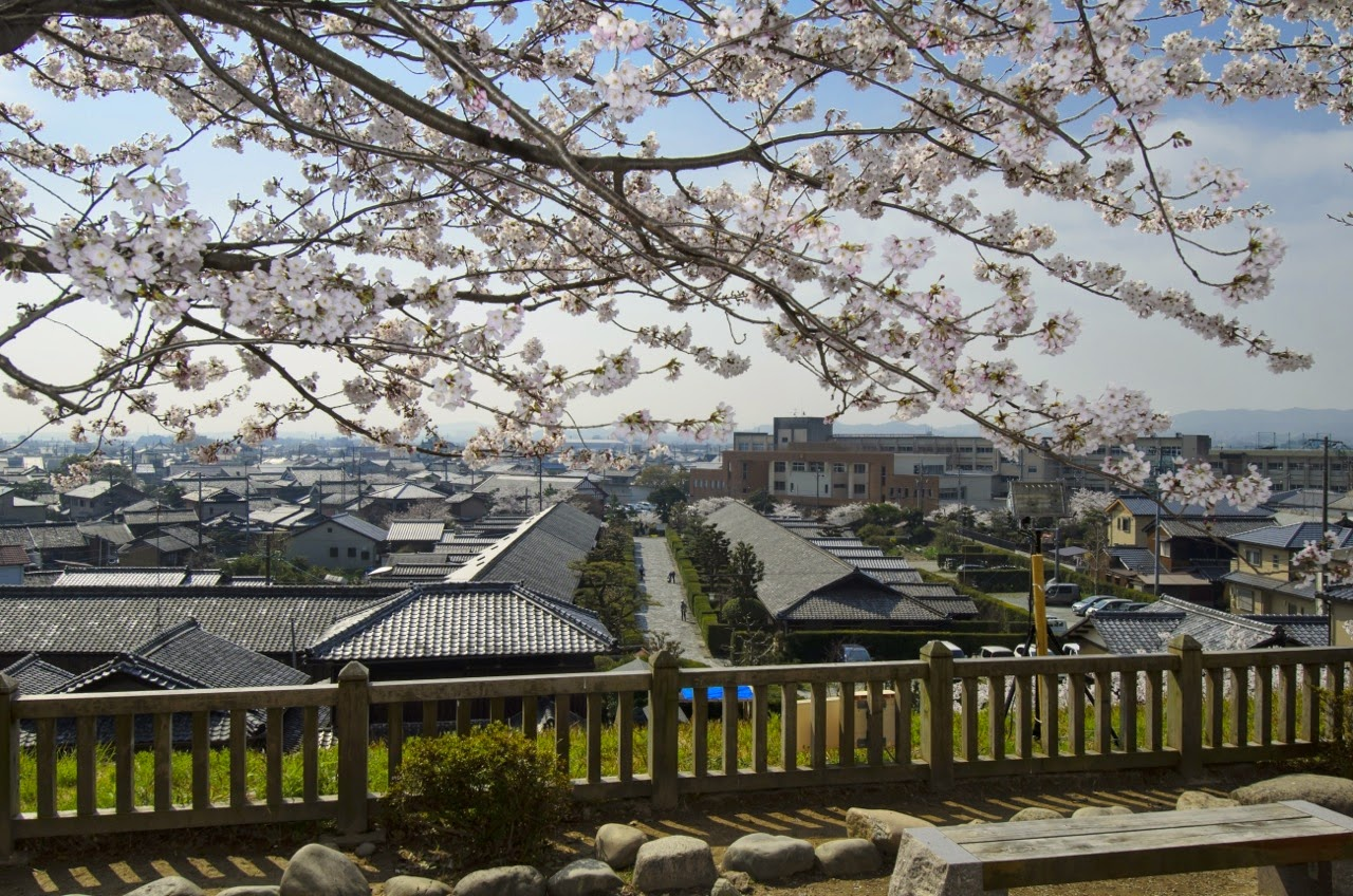 View from Matsusaka Castle
