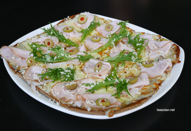 Kassler Flade - Smoked Pork Loin Pizza