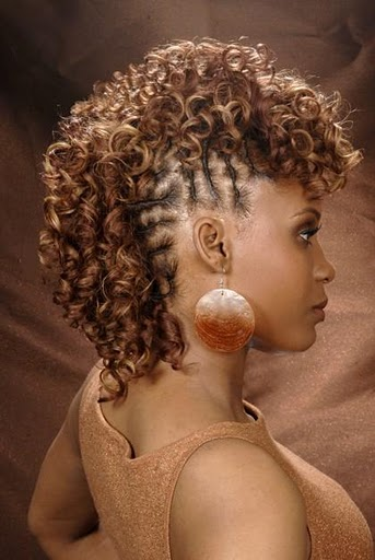 Curly Mohawk Hairstyles For 2012 Amp 2013