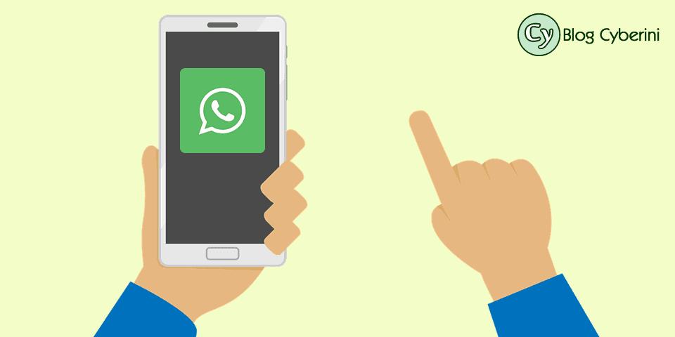 Botão para compartilhamento de conteúdo no WhatsApp