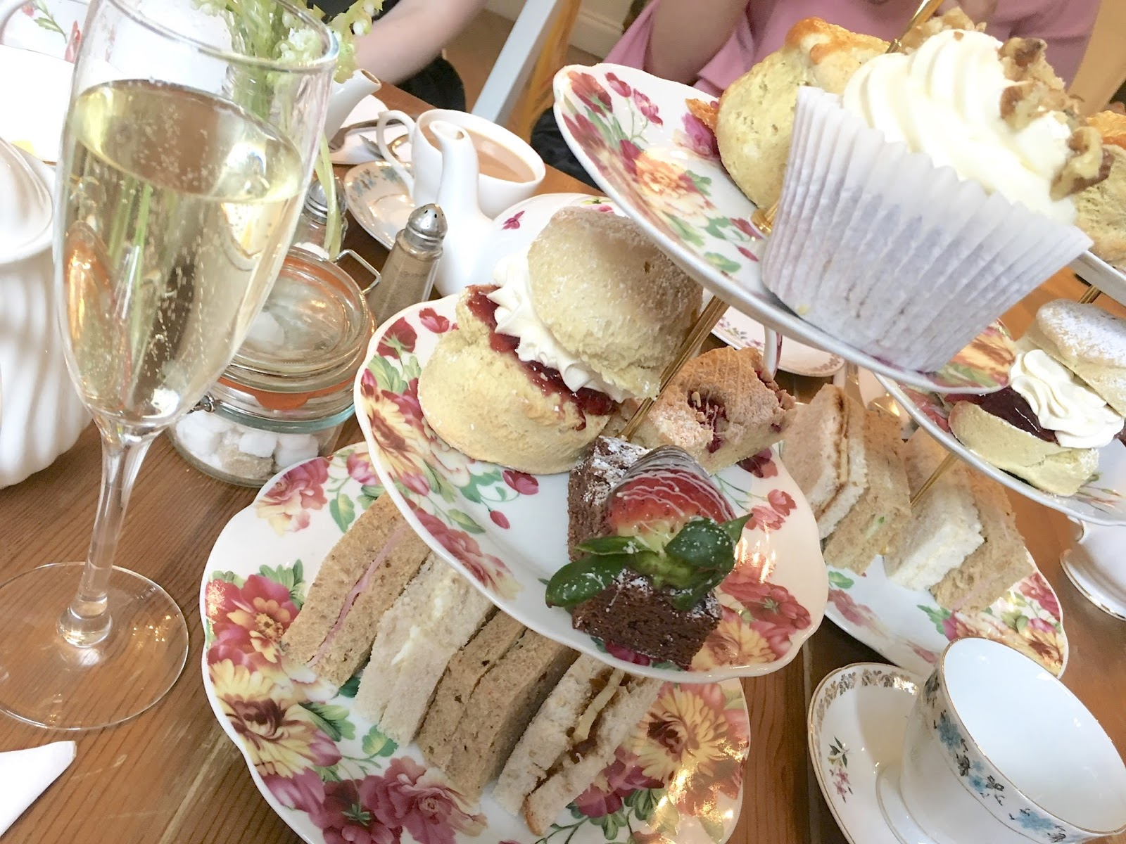 Afternoon tea at the Great British Cupcakery, Newcastle