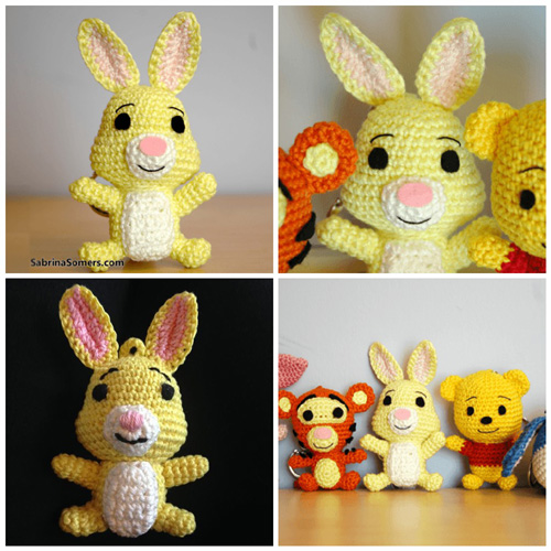 Rabbit Amigurumi - Free Pattern