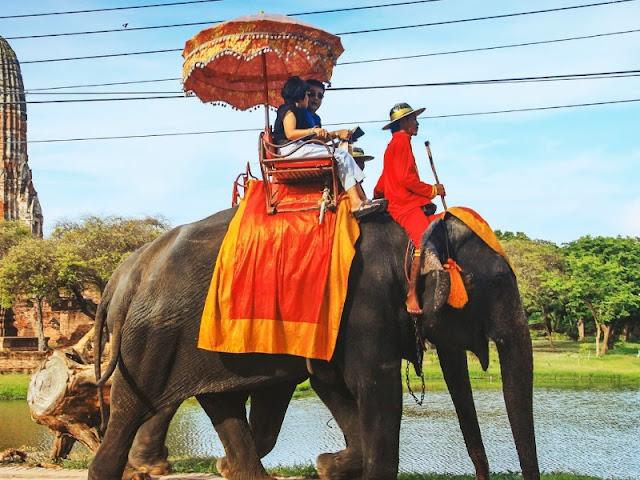 Liburan Bersama Keluarga ke Ayutthaya Thailand