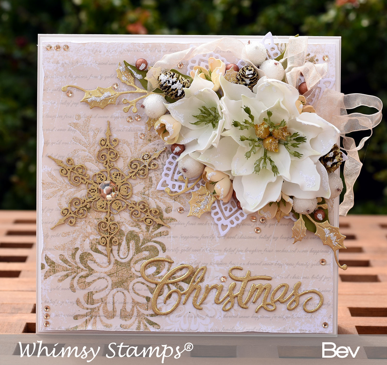 All The Things I Love New Lily Die Set Whimsy Stamps August Release