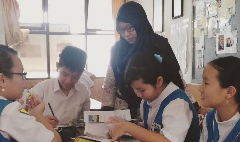 Proses belajar mengajar di sekolah