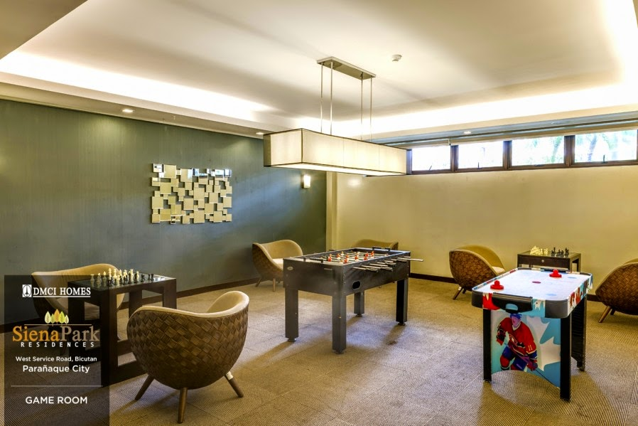Siena Park Residences Game Room