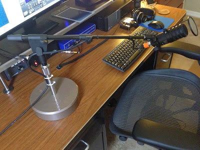 Mike S Ham Radio Topics Custom Made Microphone Stand That