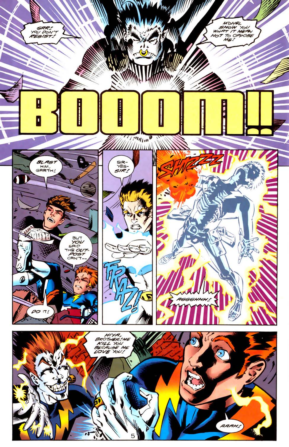 Legion of Super-Heroes (1989) 114 Page 5