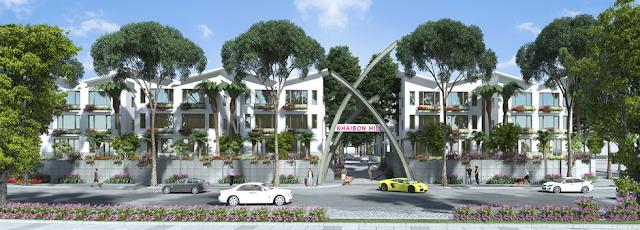 Kiến trúc xanh - sinh thái của Khai Sơn Hill