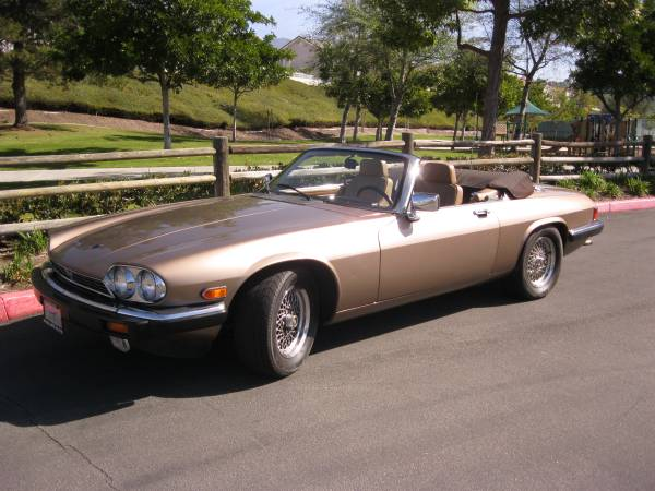 Luxury 1990 Jaguar XJ-S Convertible