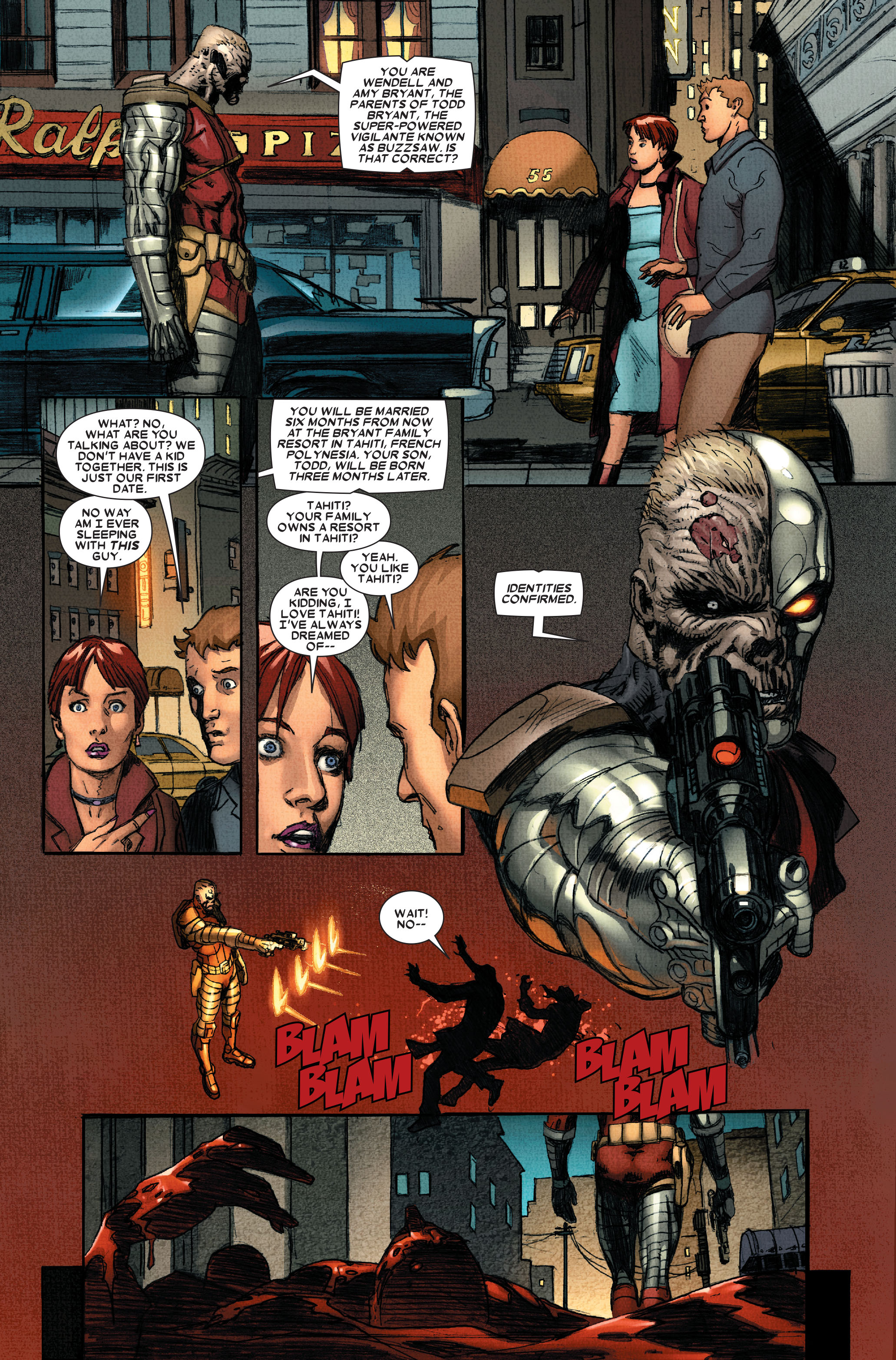Read online Wolverine: Weapon X comic -  Issue #11 - 12