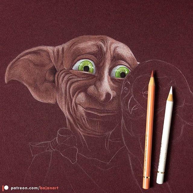 08-Dobby-the-House-Elf-Lukasz-Andrzejczak-www-designstack-co