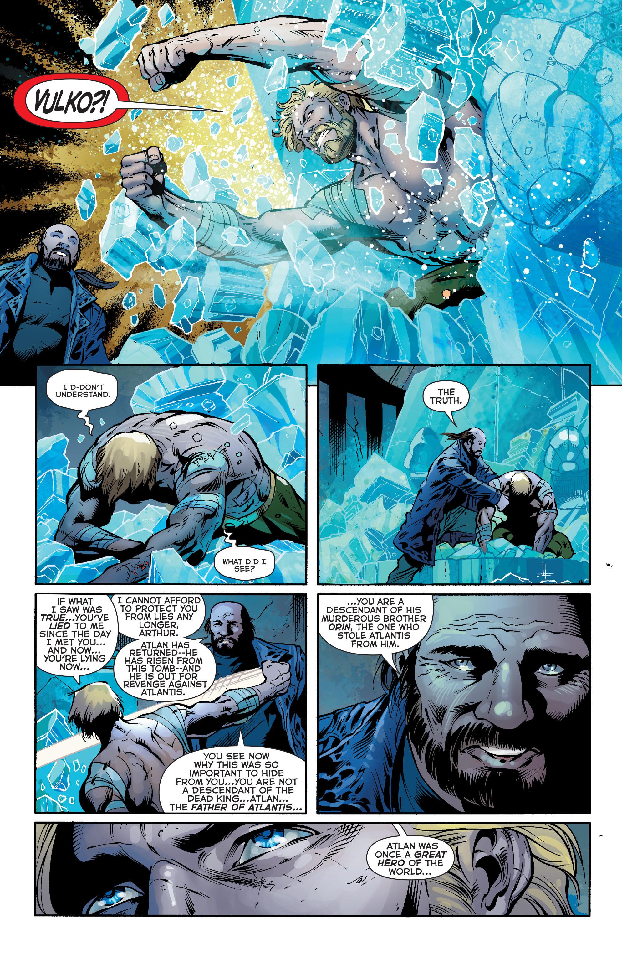 Read online Aquaman (2011) comic -  Issue #24 - 18