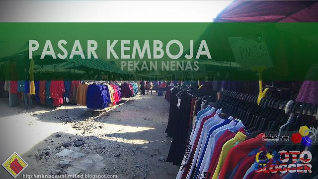 Pasar Kemboja Pekan Nenas : The Return