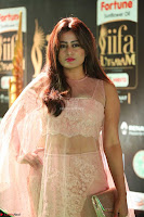Nidhi Subbaiah Glamorous Pics in Transparent Peachy Gown at IIFA Utsavam Awards 2017  HD Exclusive Pics 41.JPG
