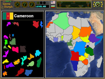 Пъзел на Африка