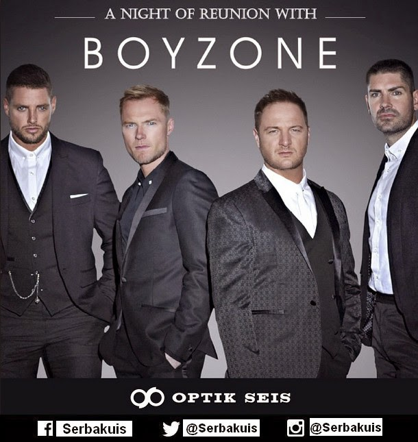 Kontes Foto Berhadiah Tiket BZ20 Boyzone Tour 2015