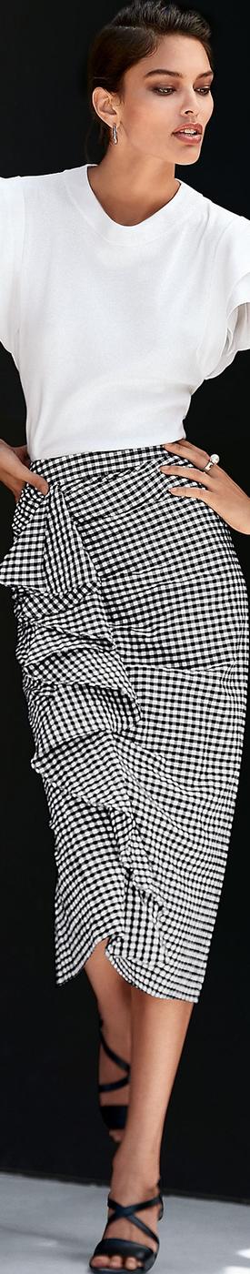 MADELEINE Ruffle Skirt