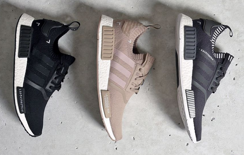9cdf4fcaa Foot Locker is giving shoppers another chance at some of this year s more  coveted NMD styles with a restock of the three colorways pictured above.
