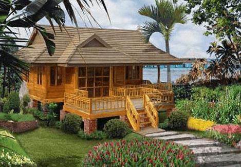 Model Rumah Kayu Modern Minimalis Kecil Sederhana Desain Jepang