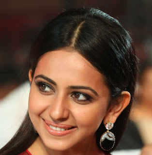 Telugu Actress Rakul Preet Singh Oily Face close Up Pictures (5)