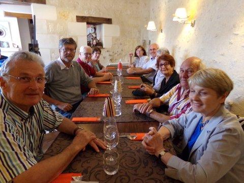 Nos randonnees groupe les visiteurs du hurepoix et parfois d 39 ailleurs 11 9 16 sur les pas - Restaurant cote cour azay le rideau ...